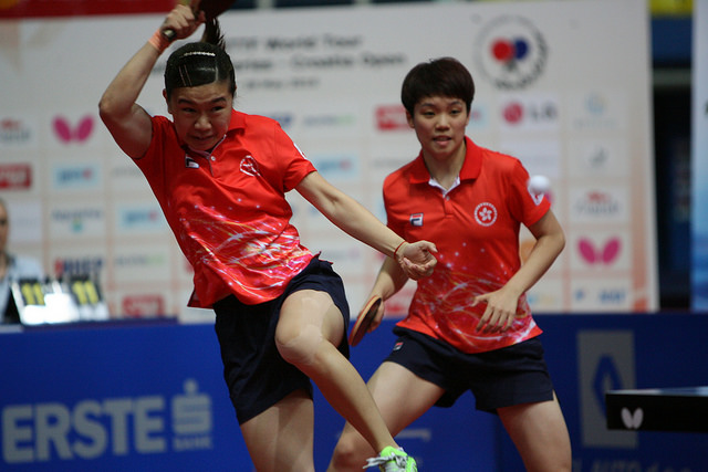 Lee Ho Ching and Doo Hoi Kem - photo by the ITTF